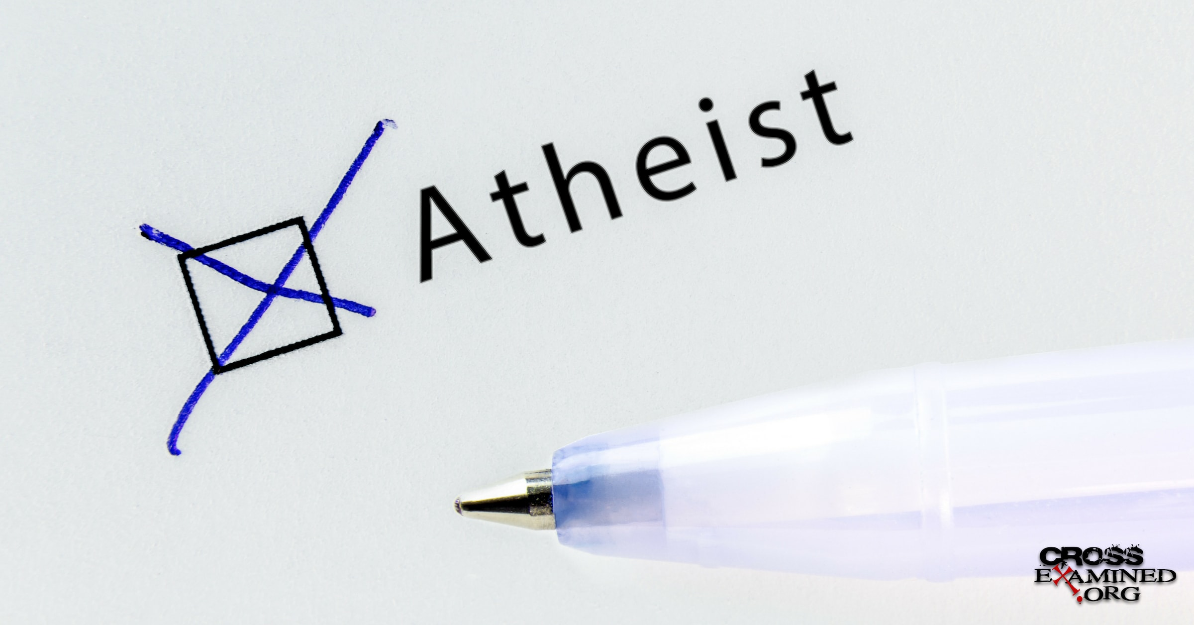 Defining Atheism No belief in God or Belief in no God