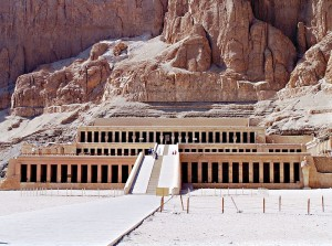 Hatshepsut's mortuary temple (Deir el-Bahari) in the Valley of the Kings