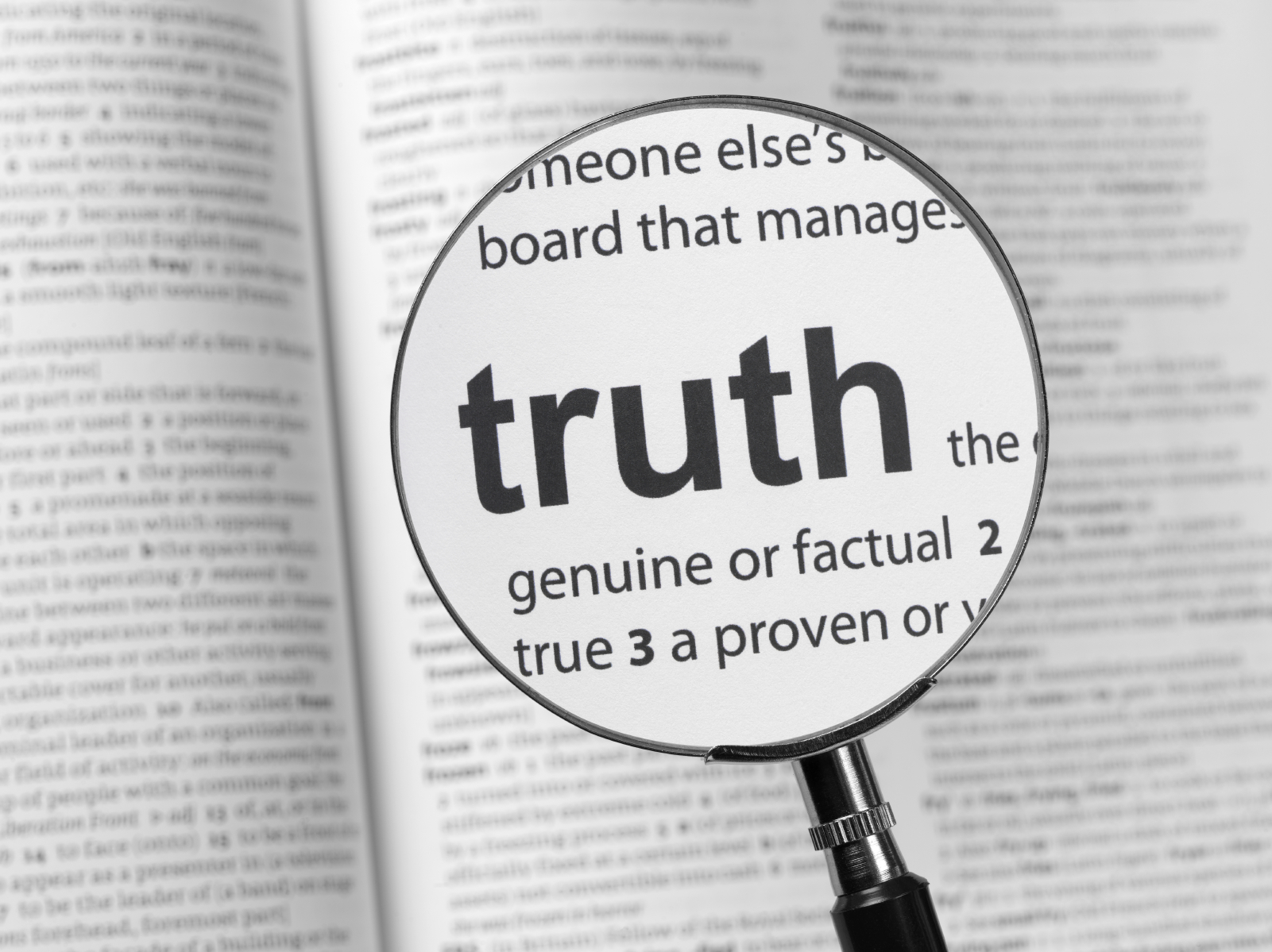 religion and truth Fact sheet for the church without a  but are often called: the truth, the no-name church  organization: contends the group is not an organization, religion or.