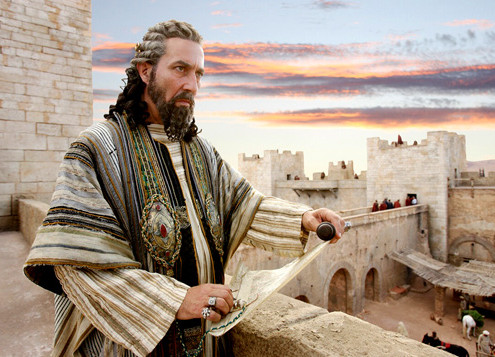 "Herod I as portrayed in the movie ""The Nativity"""