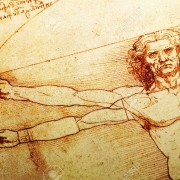13386518-Rome-Italy-30-March-2012-Replica-of-the-famous-Vitruvian-Man-drawing-created-by-Leonardo-da-Vinci-Stock-Photo