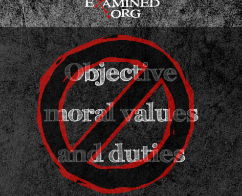 objective moral NO