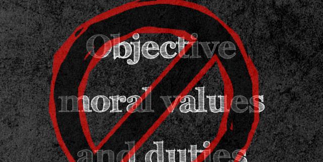 objective moral NO