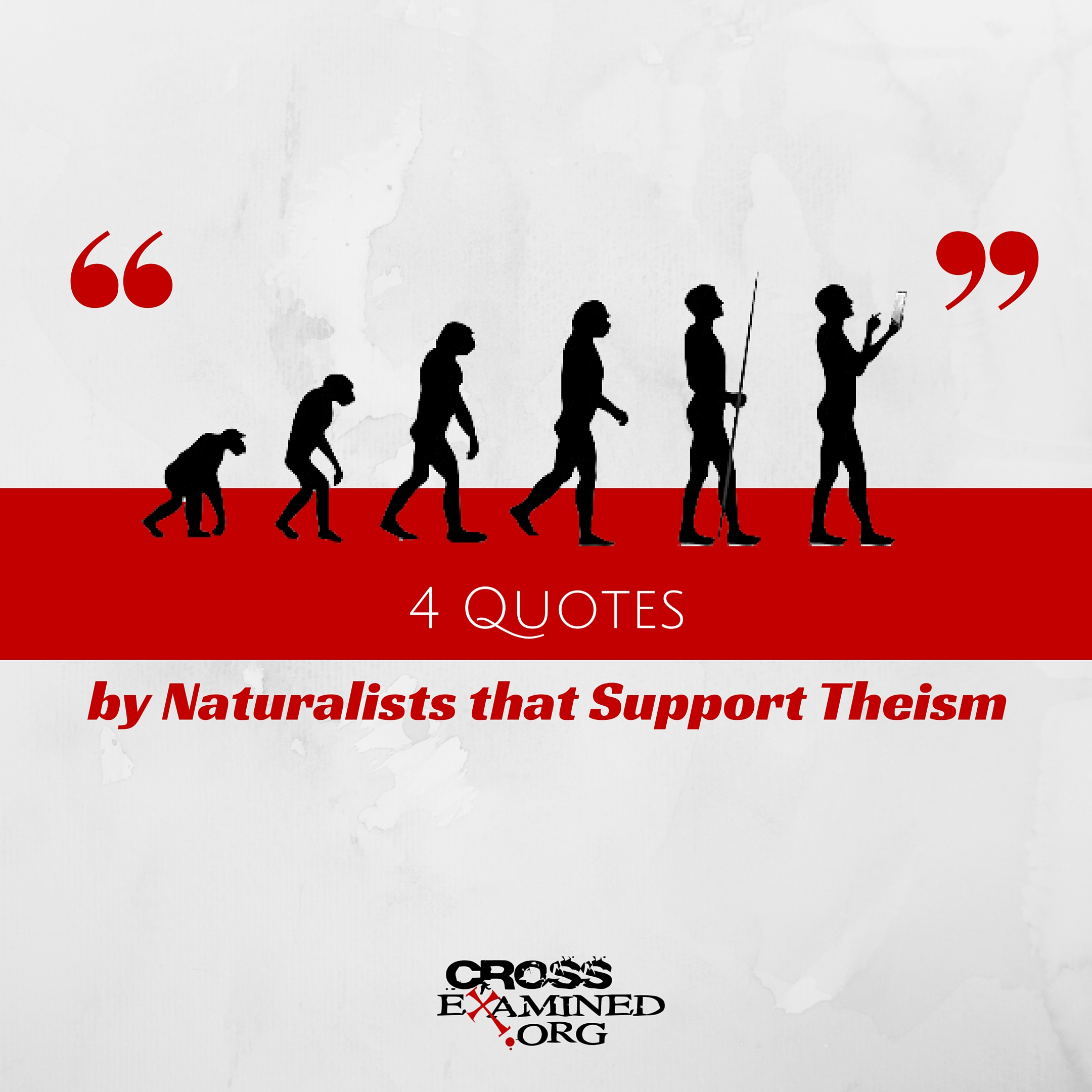 4 Quotes on Natural Selection by Naturalists that Support Theism