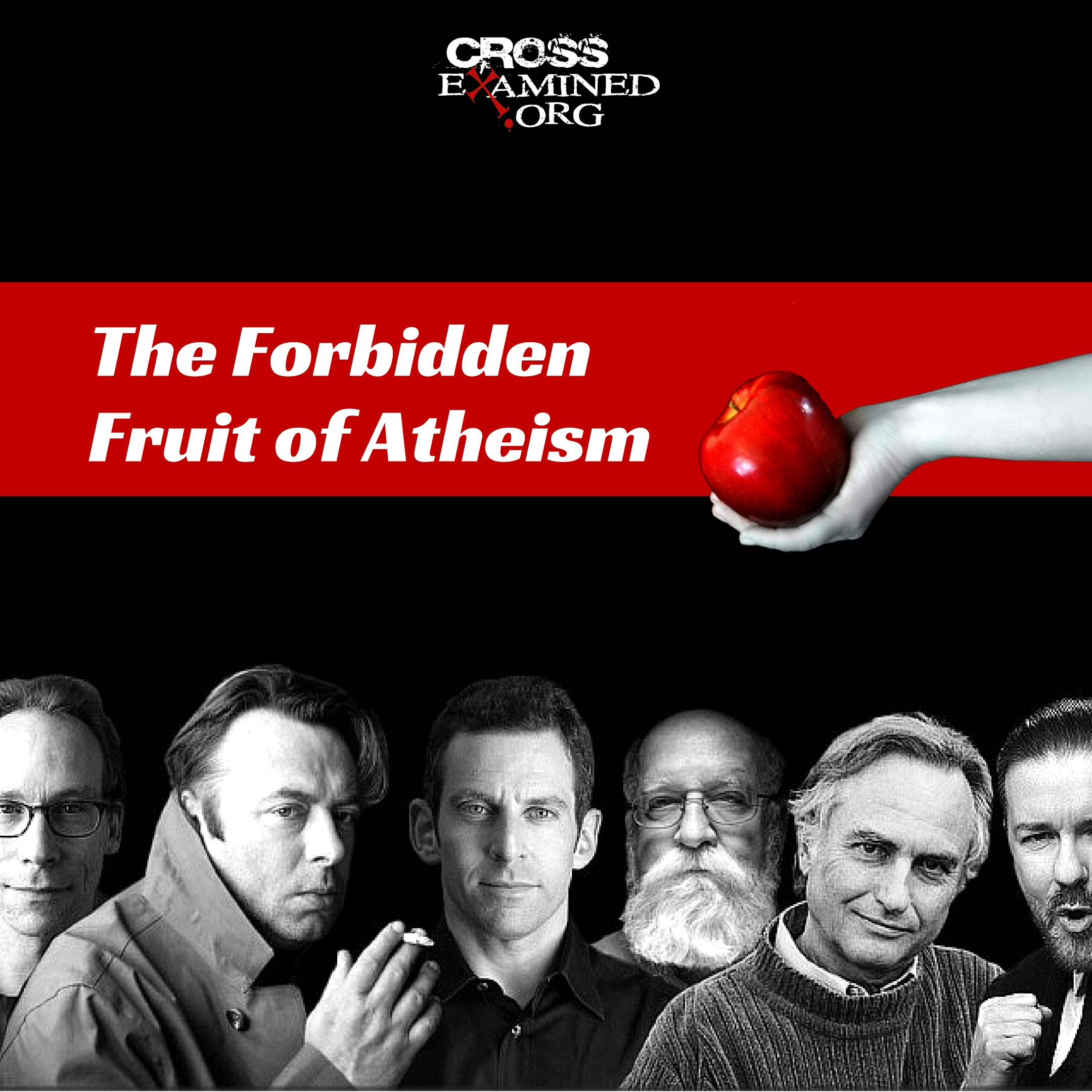 The Forbidden Fruit of Atheism; What question they cannot ask?