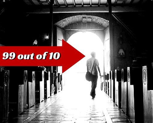 Why 99 out of 10 Millennials Leave The Church?