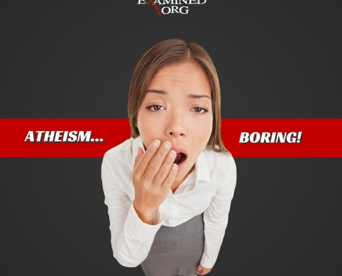 There's no God? How boring!