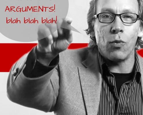 I don't have ARGUMENTS! blah rant blah! BLOG Image