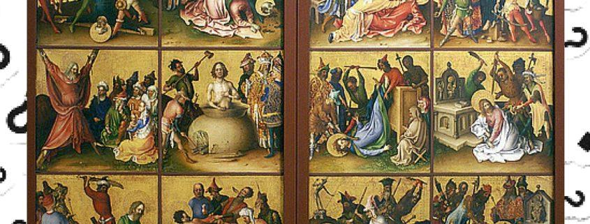 Apostles Death Unique BLOG