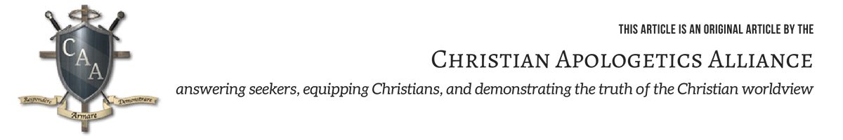 Christian Apologetics Alliance BLOG Banner
