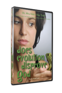Does Evolution Disprove God DVD