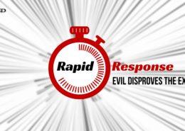 Evil Disproves God