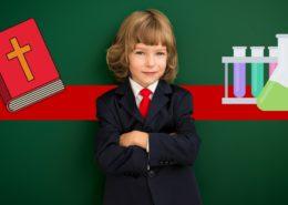 Children Faith Science