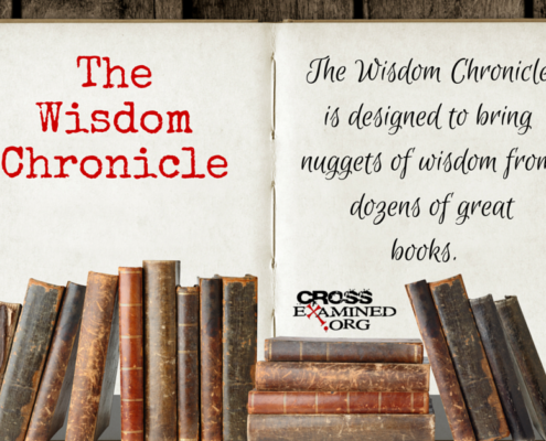 The Wisdom Chronicle blog graphic
