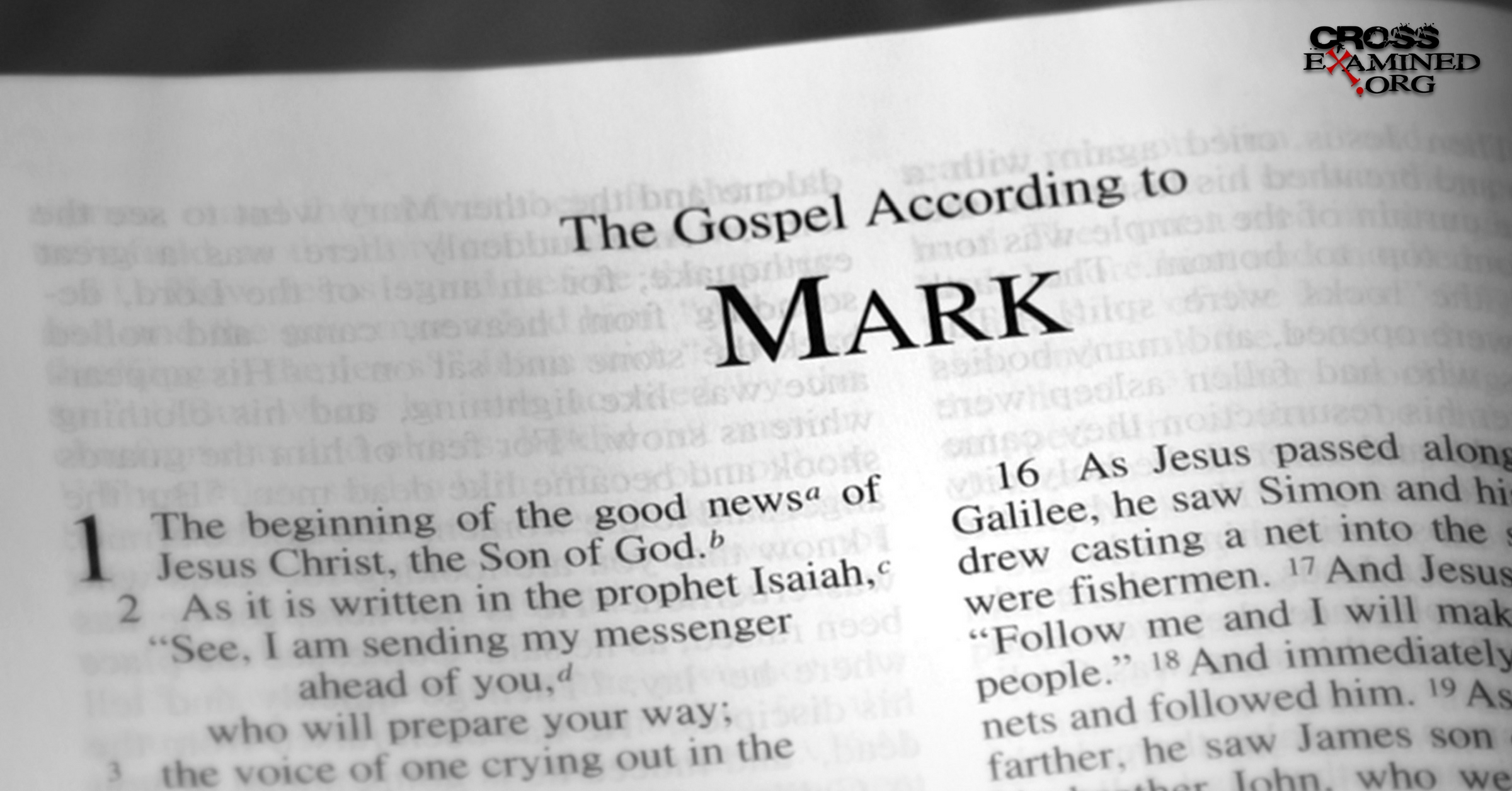 the gospel according to mark The gospel according to mark has 109 ratings and 35 reviews sidharth said: a story ridiculing the tradition of sacrifice or blind faith or literal under.