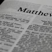 Matthew Gospel New Testament