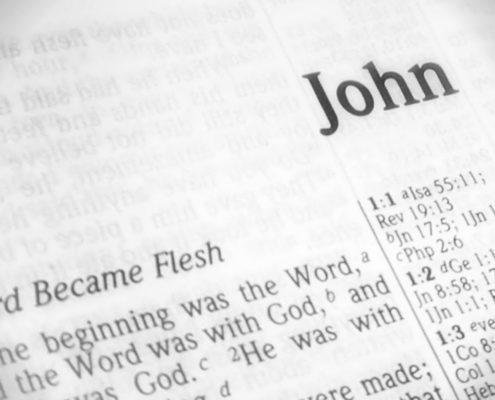 Gospel John New Testament Author