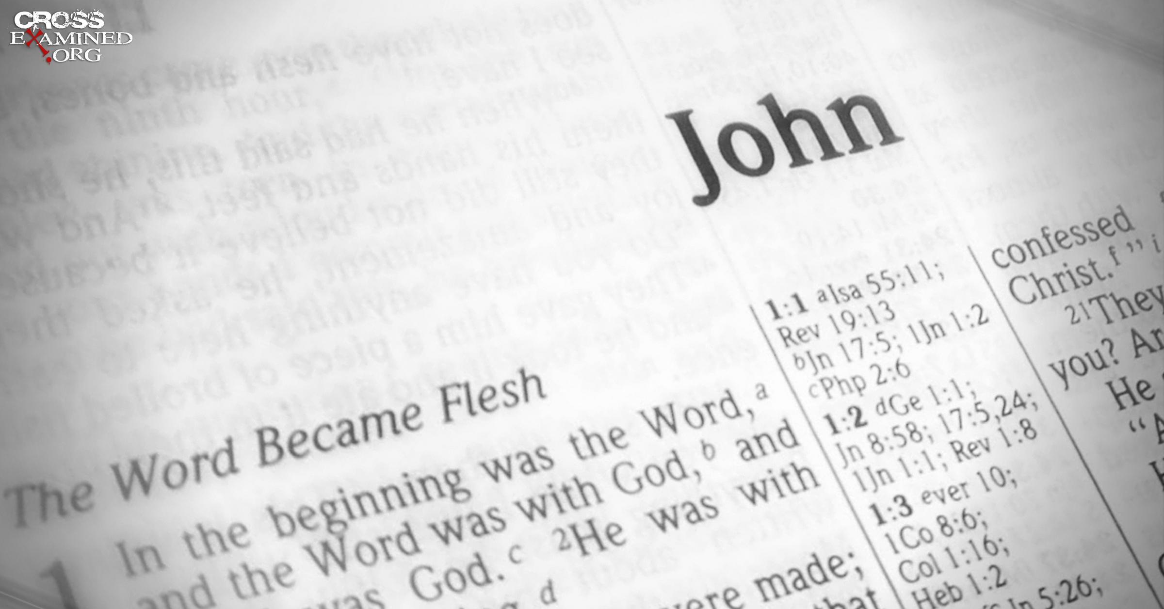 gospel of john kjv