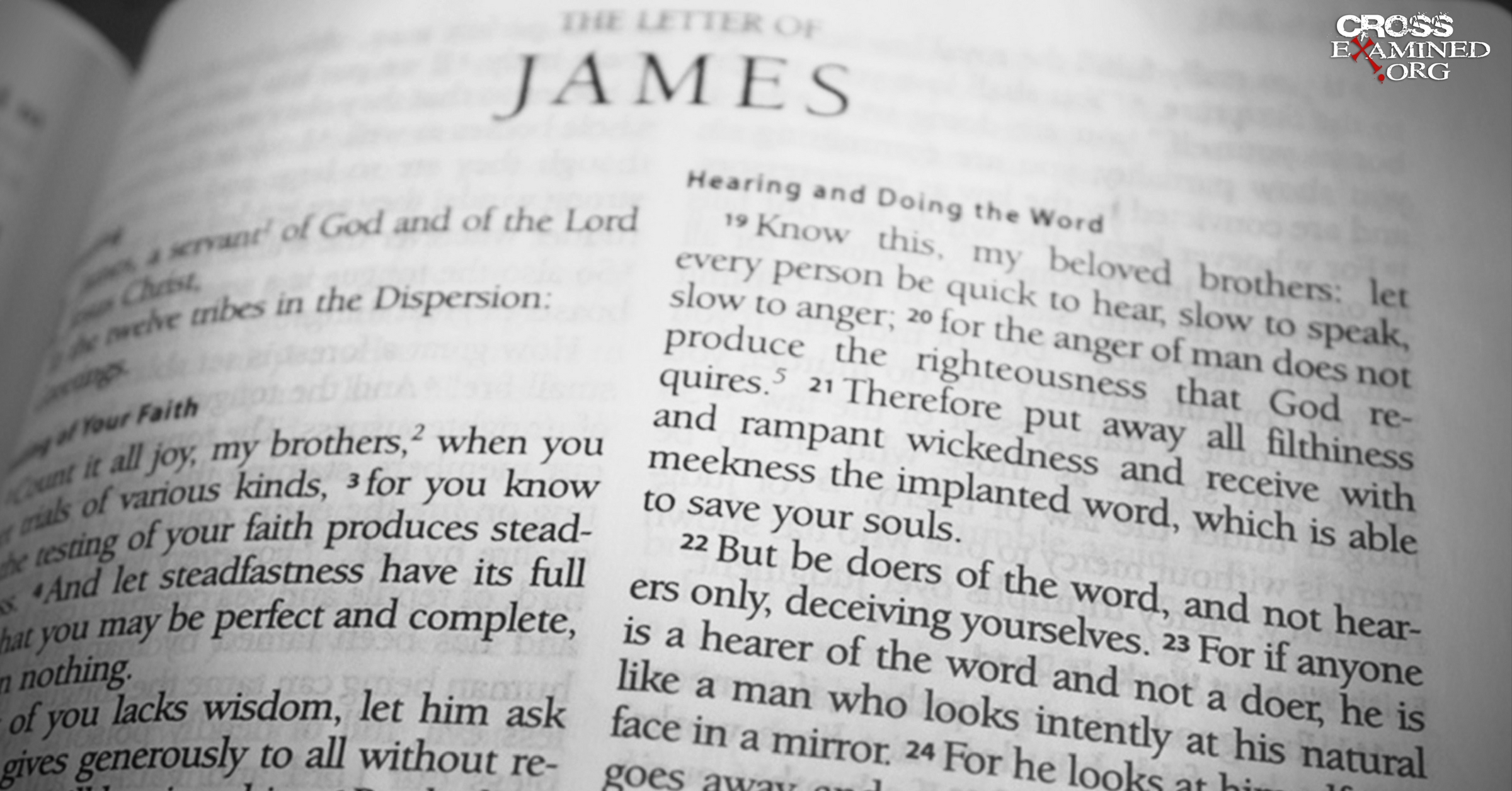 Who Wrote the Letter of James? | CrossExamined.org