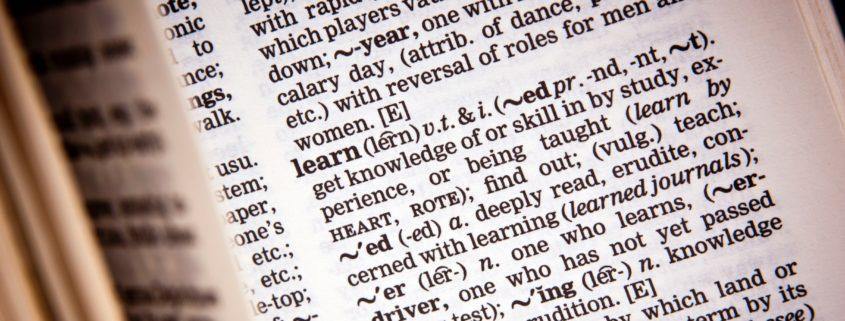 Defining Terms Debate