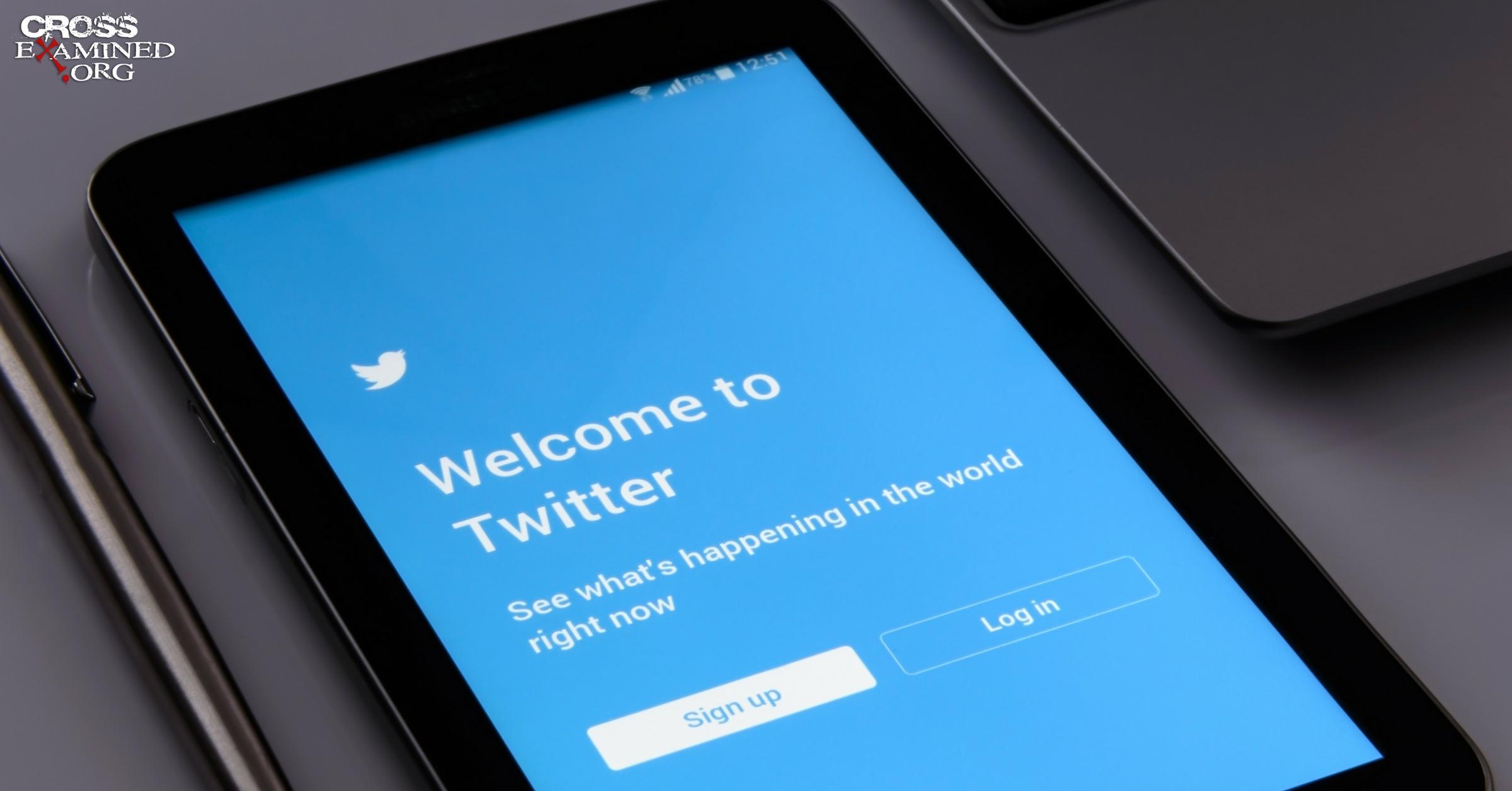 Apologetics Twitter Social Media