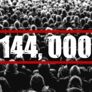 144,000 in heaven