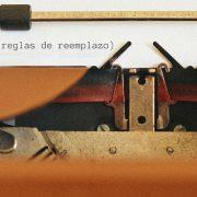 Lógica 05: 10 reglas de reemplazo