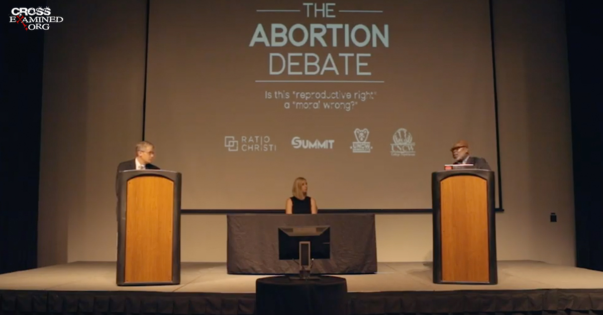 The Abortion Debate:  Dr. Mike Adams vs. Abortion Doctor