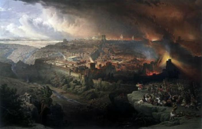 The Siege and Destruction of Jerusalem, by David Roberts (1850).