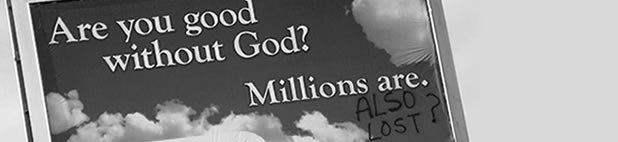 Are you good without God? Millions Are